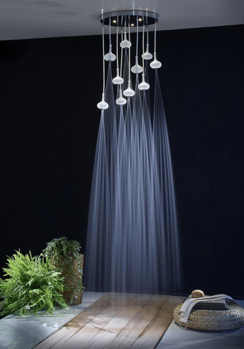 Davide Vercelli, Melograno shower head by Fima Carlo Frattini and Melogranoblu
