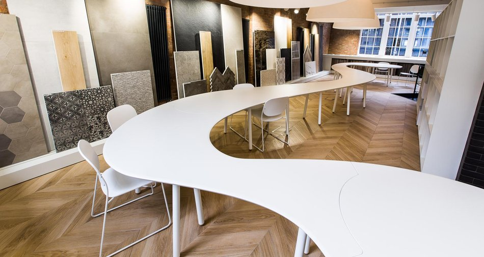The new London showroom, focus for contacts and partnerships between Marazzi and architecture professionals, has opened in the heart of Clerkenwell