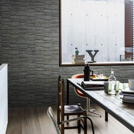 Mystone Bluestone, charming shades of grey for the new Marazzi stone-effect stoneware